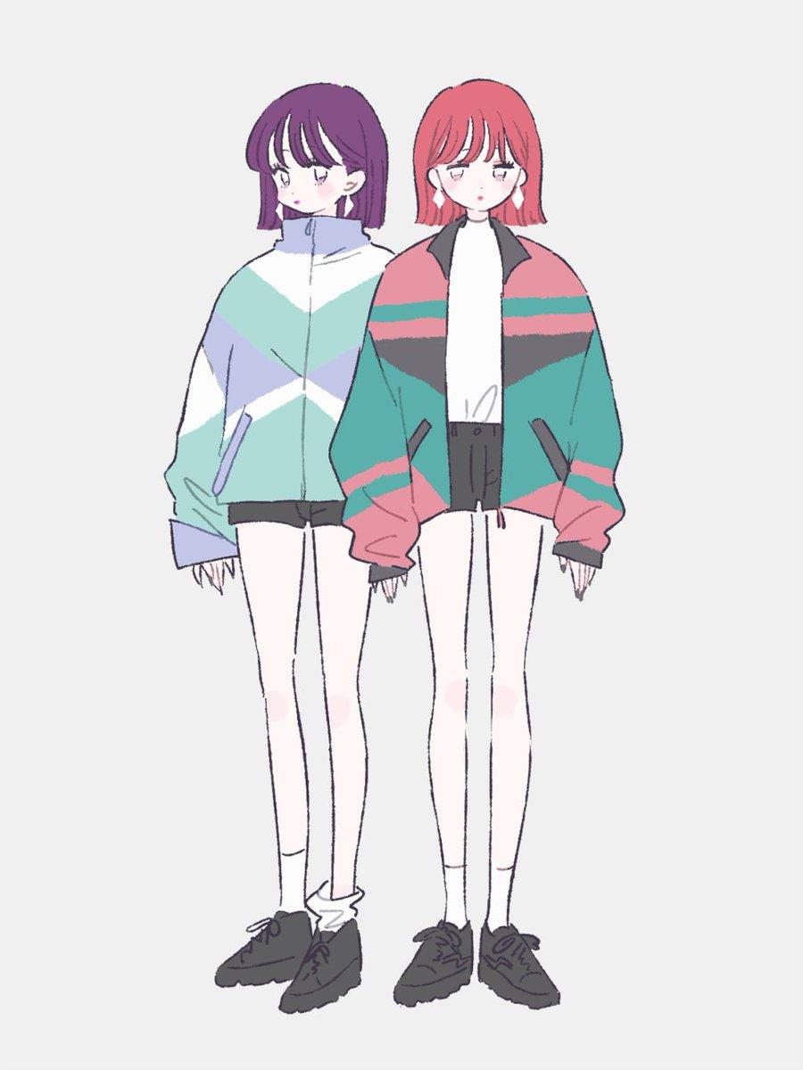 ボーイッシュ(?)双子コ~デ