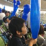 Image for the Tweet beginning: 週末は息子と野球観戦に行ってきて楽しかった!大勝したからな( ⁼̴̶̤̀ω⁼̴̶̤́ )