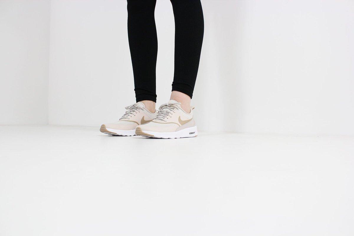 on sale 35e6a b97eb ... reduced sneakerworldshop on twitter nike air max thea women desert sand  sand white nike airmax thea