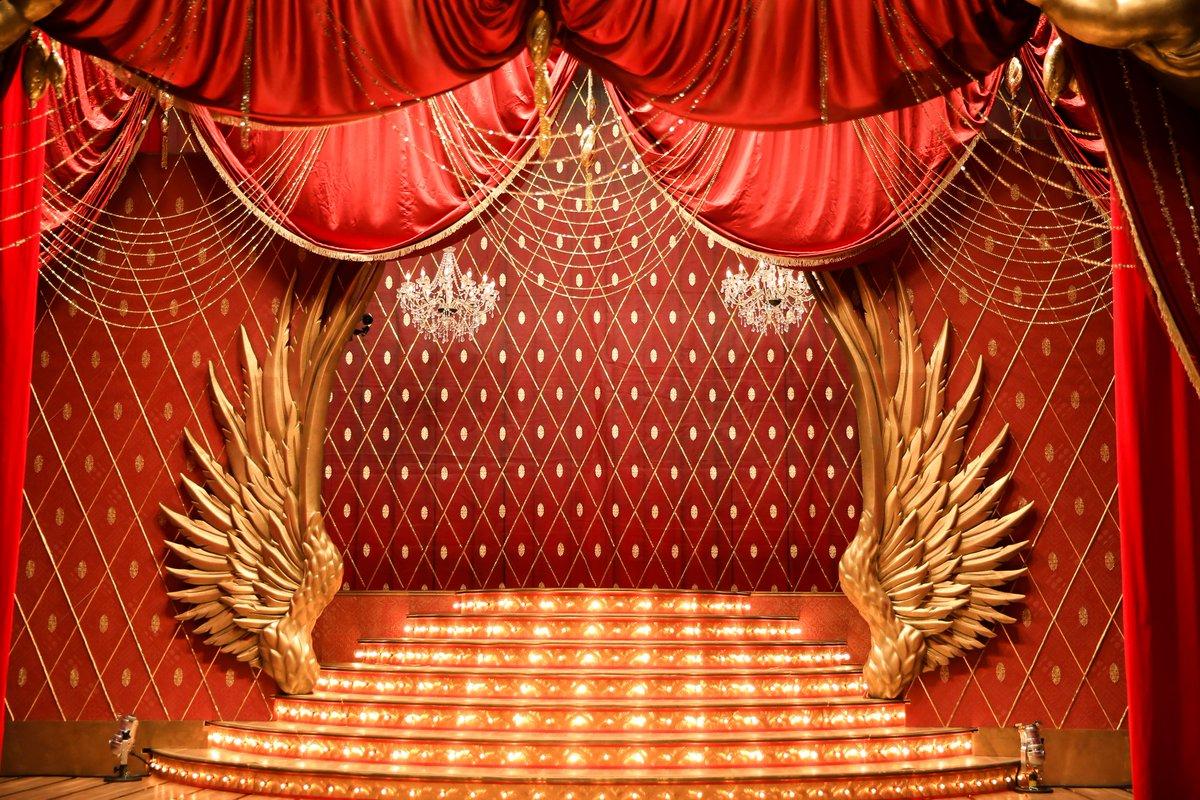 ステージの照明にもこだわってます。 #ネタパレ #ウラフジ #fujitv ht...
