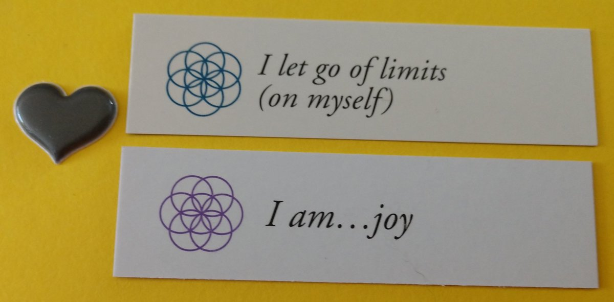 test Twitter Media - Today's Positive Thoughts: I let go of limits on myself and I am...joy. Randomly selected from my #inspirational card sets. #affirmation https://t.co/VOeBXbX5Vk