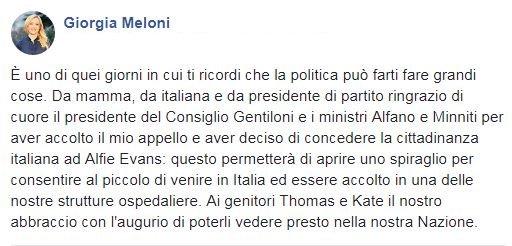 Giorgia Meloni Ù†'s photo on #Alfie