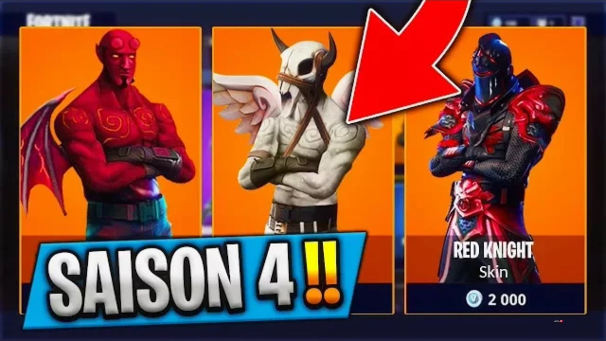 New Skins FOR THE NEW SEASON 4 ! Do you LIKE the SKINS ?