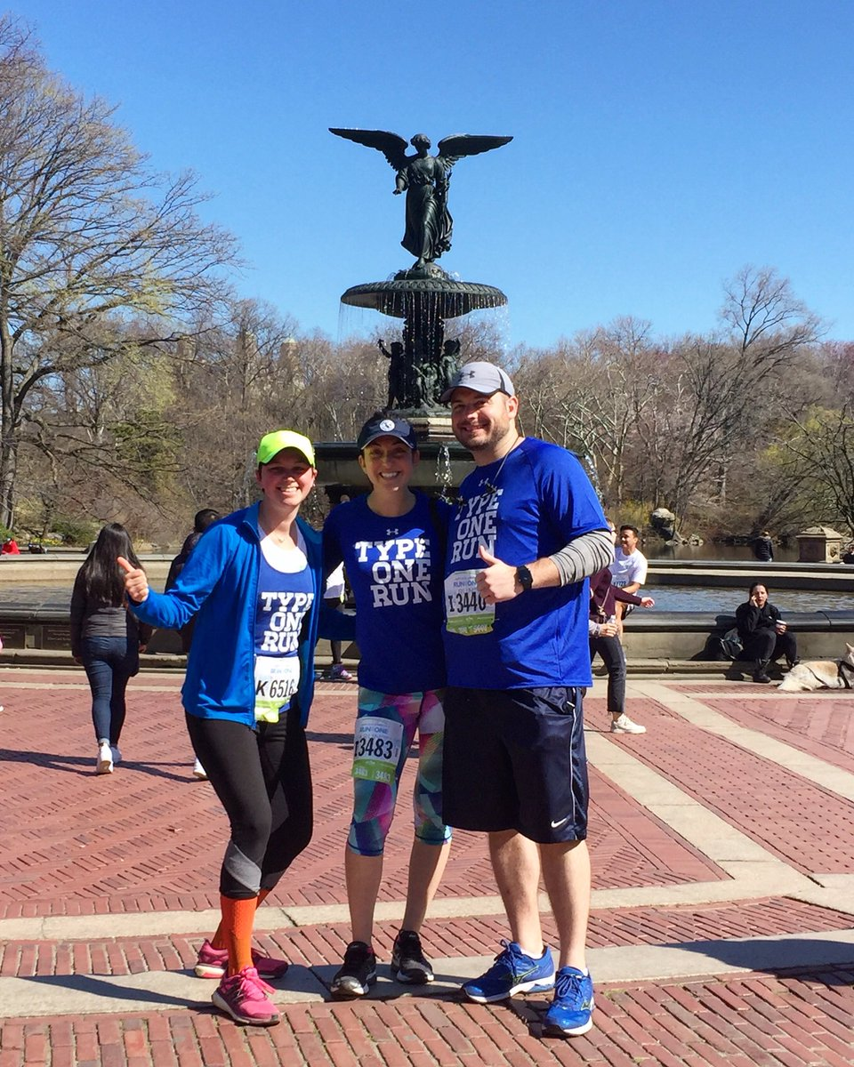Great start to the 2018 running season yesterday at the #RunAsOne4M in Central Park. And so nice to meet up with some fellow #type1 runners! @typeonerun @BeyondType1 #diabadass<br>http://pic.twitter.com/tLibHE8Y3g