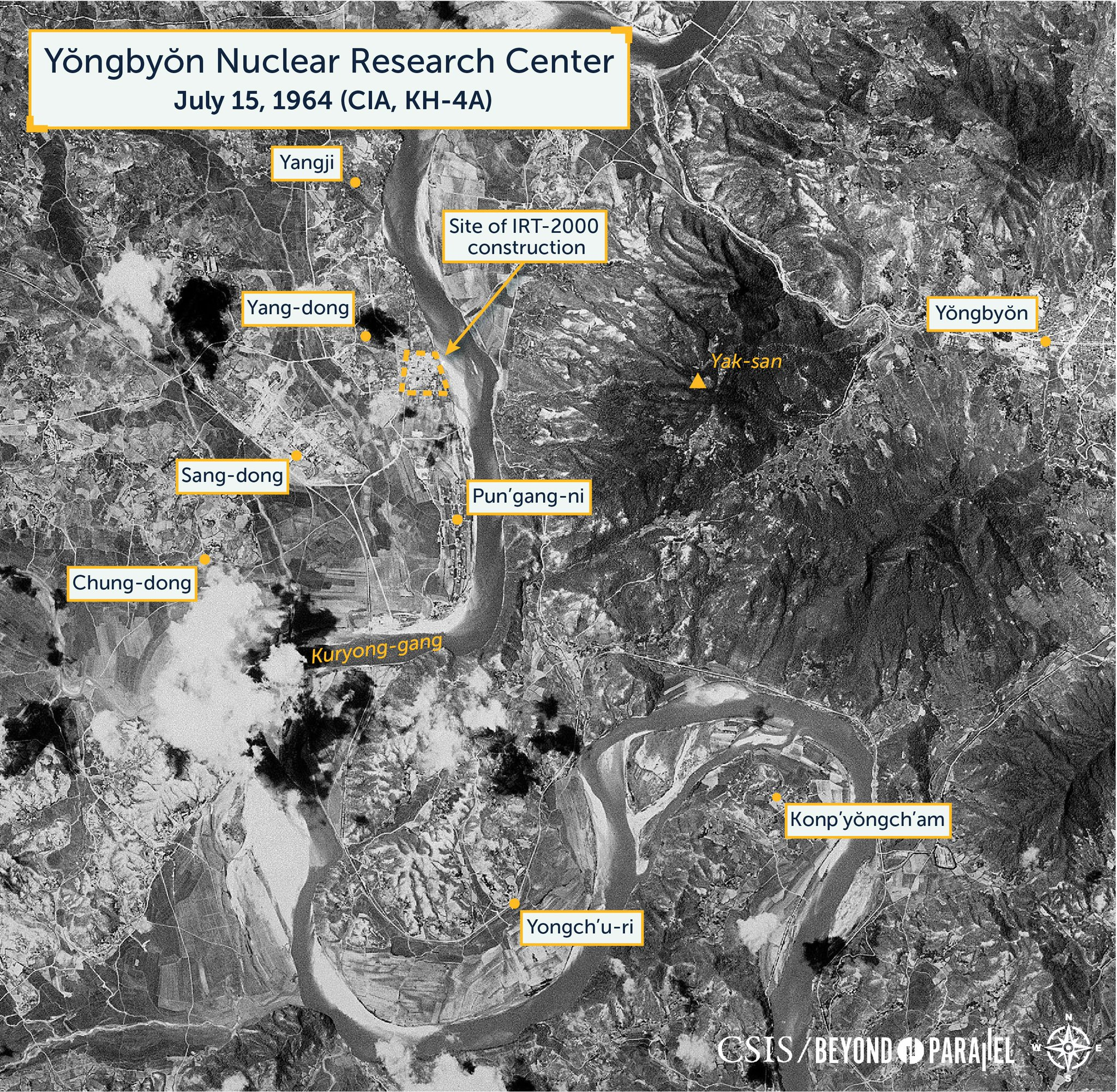 A year to year analysis of North Korea's first nuclear research reactor: https://t.co/GKRKdZPEUa https://t.co/9L0dLU5uD7