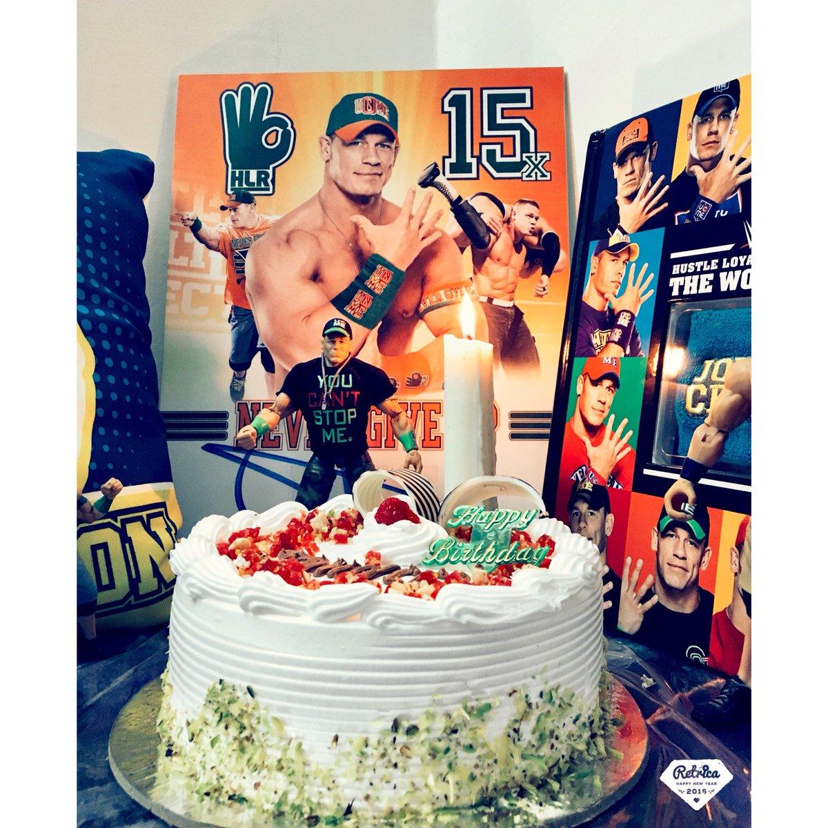 Mehul Cena On Twitter Birthday Celebration Johncena Jabrafan Happybirthdayjohncena Happybirthdaycena 41yearsstrong Cenation Hlr Nevergiveup Earntheday Https T Co Oagxng0av5