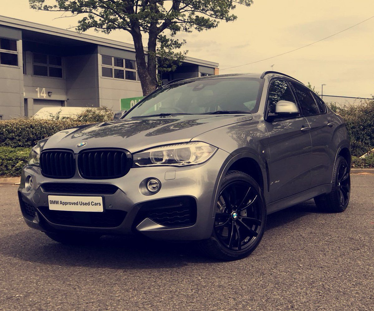 Stephen James Bmw On Twitter This Approved Used Space Grey X6 M