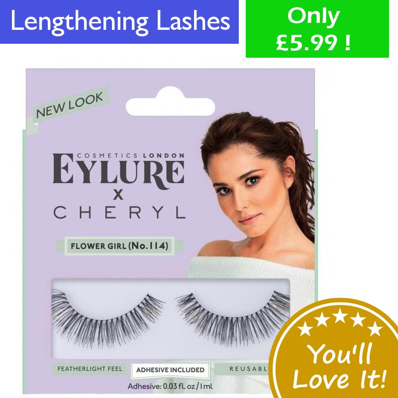 a8aae6b25b0 Cheryl. Buy Yours Now:  https://www.anielas.com/collections/womens-beauty/products/eylure -lengthening-lashes-no-114-cheryl …
