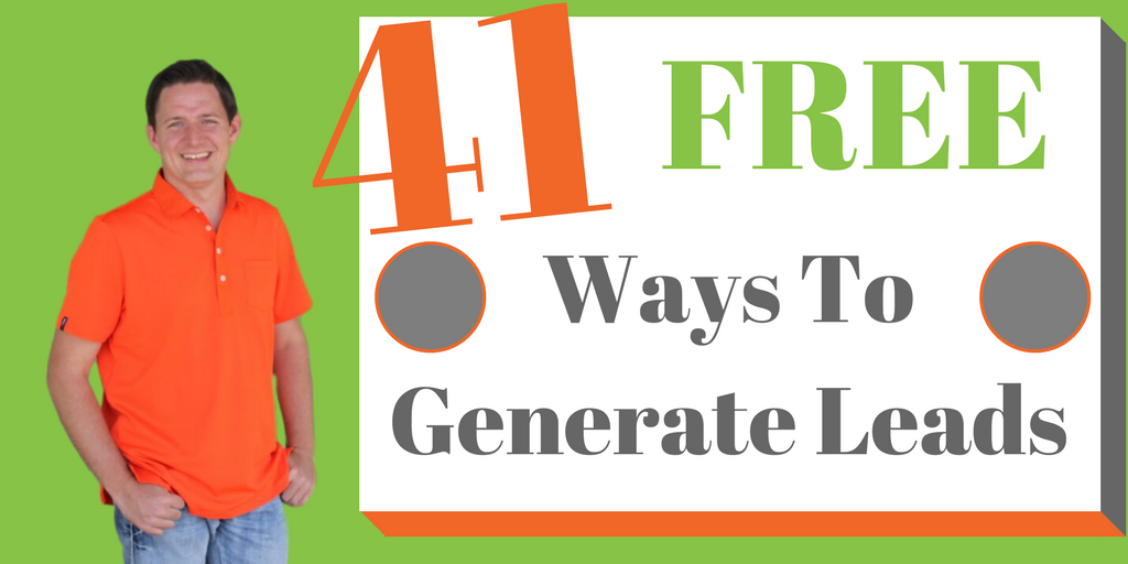 http:// bit.ly/2GPo0Ae  &nbsp;    Did you know there are 41+ different ways to generate #leads for your #business that I actually GIVE you for FREE?  Pick them up here...<br>http://pic.twitter.com/jy7f6xpP3x
