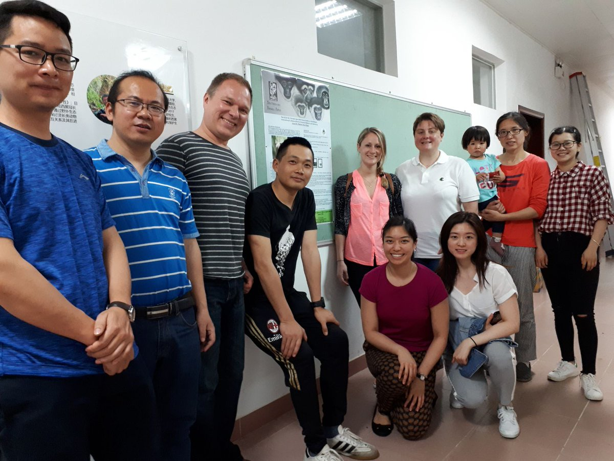 All hands on deck preparing for an international #gibbon in-situ and ex-situ #conservation workshop in #Guangzhou with @ZSLScience @OfficialZSL @ZSLconservation @DrSusanCheyne @IUCN_Gibbon @gibbonresearch #China #research #phdlife<br>http://pic.twitter.com/MbNHiLUUqm