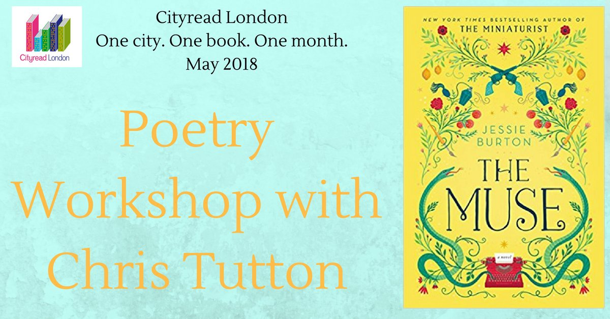 Poetry Workshop at Tudor Drive Library! Special workshop devised to  celebrate #Cityread2018. You will get the chance to write a poem or piece  of prose.