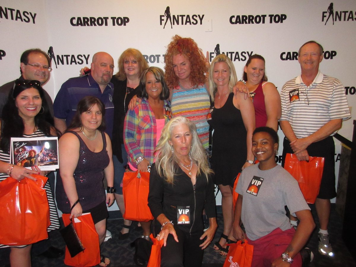 Carrot Top On Twitter Come On Out To The Luxorlv For Your Vip