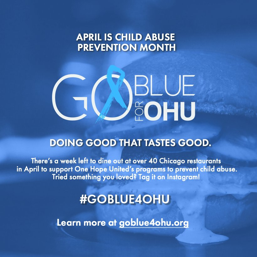 test Twitter Media - There's only one week left in the month of April but you still have time to #GoBlue4OHU! Stop by one of our partner restuarants this week! https://t.co/9K2D4XTbvm https://t.co/rFIO3eGECs