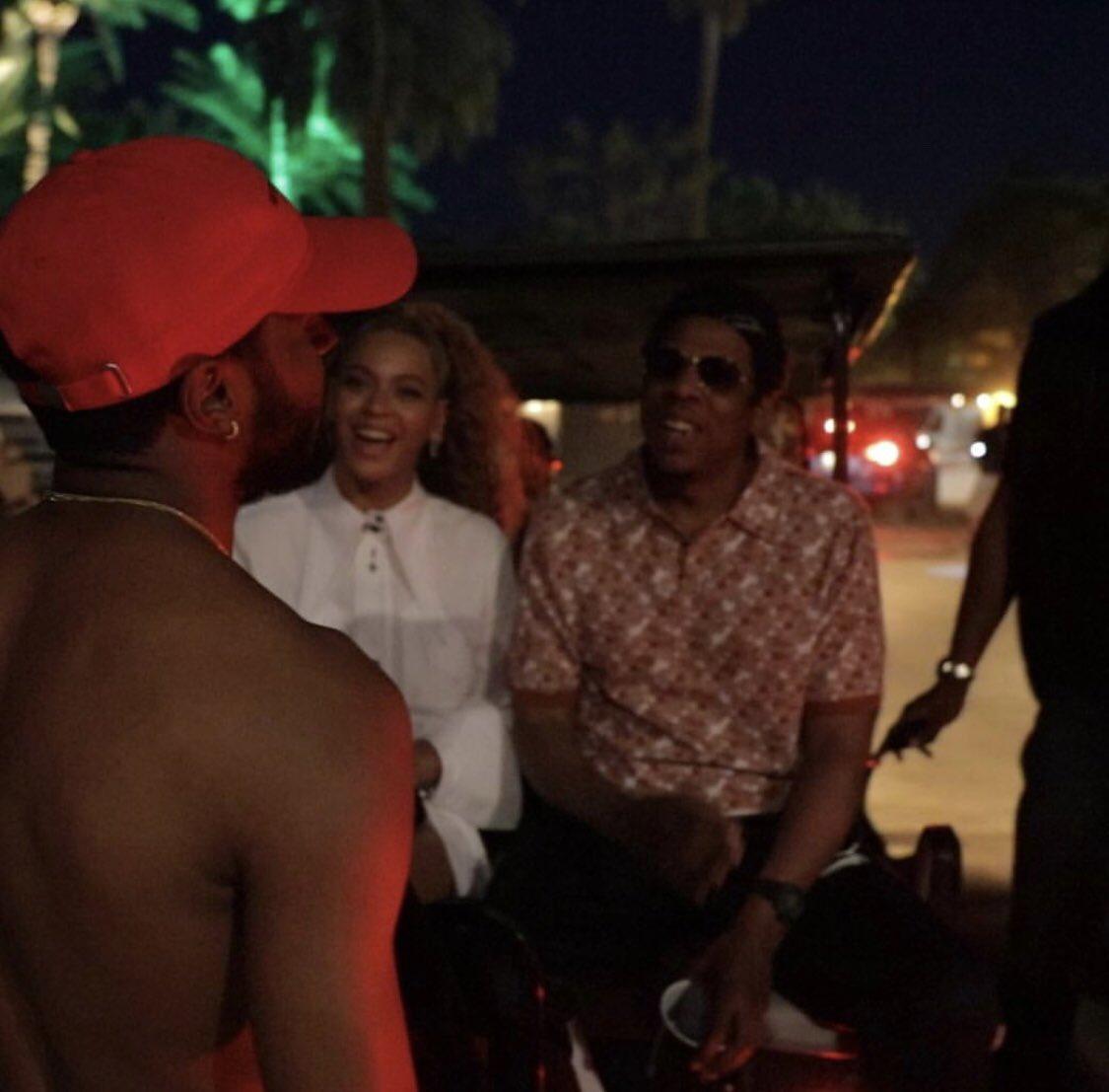 6lack met Beyoncé, so I too met Beyoncé.