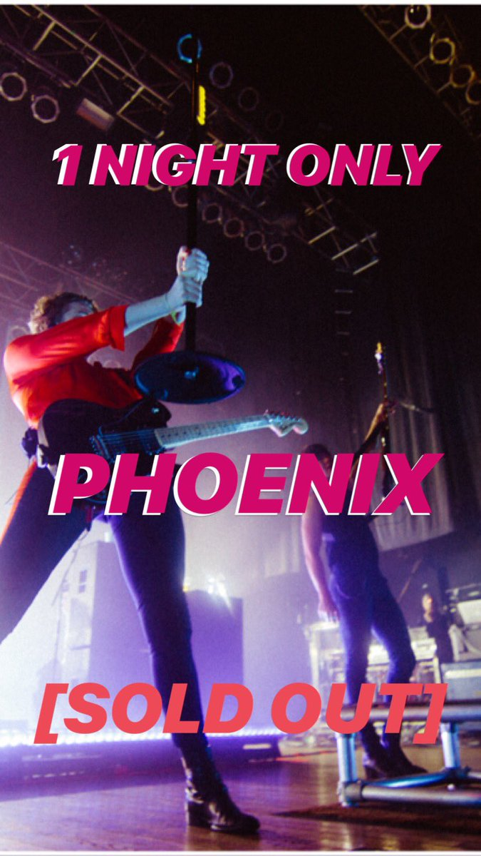 The next tour video is hilarious.  10/10, it's out soon. On another note we are playing a show in Phoenix today 💁🏼‍♂️ x