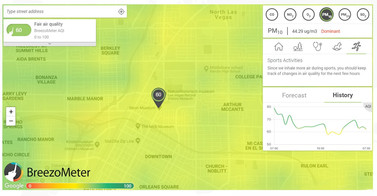 What&#39;s the air quality around you? @BreezoMeter shows air pollution in real time.   Check the air you breathe &gt;  https:// hubs.ly/H0bH_Q10  &nbsp;   #AirPollution #AirQuality #API #BeatPollution<br>http://pic.twitter.com/CP4vY5gSOj