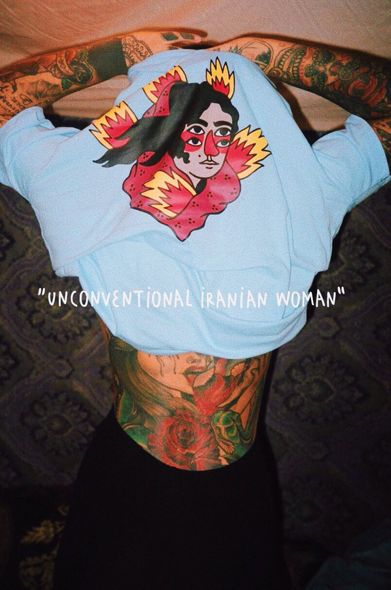 2b2f0f905e1c UNCONVENTIONAL IRANIAN WOMAN ✨🔥✨ TAHIRIH collection  byricardocavolo  Available at http