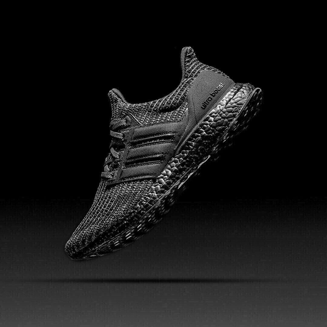 Restock: adidas Ultra Boost 4.0 Triple Black with FREE shipping   BUY HERE: bit.ly/2z4e2Gf