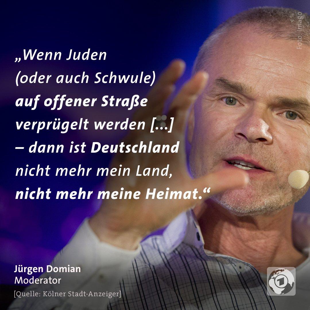 Moderator Jürgen #Domian hat sich zu den Übergriffen auf einen Israeli in Berlin geäußert.
