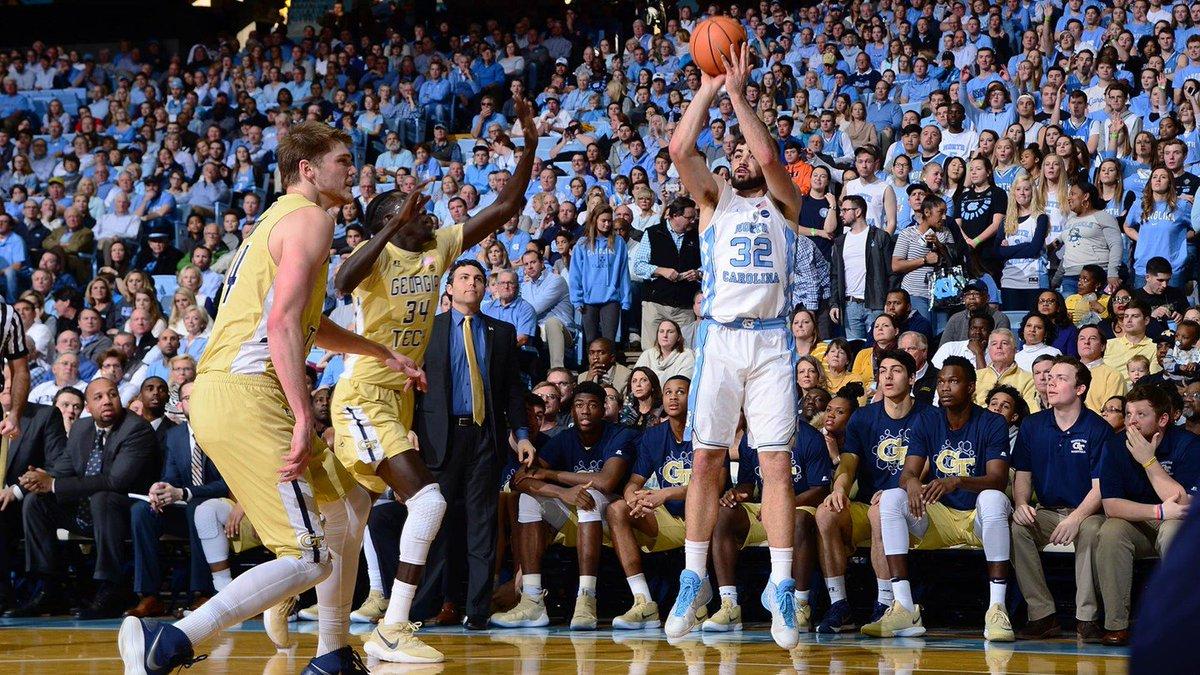 Carolina Basketball's photo on Luke Maye