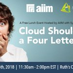 Image for the Tweet beginning: Join us, along with @AIIMIntl