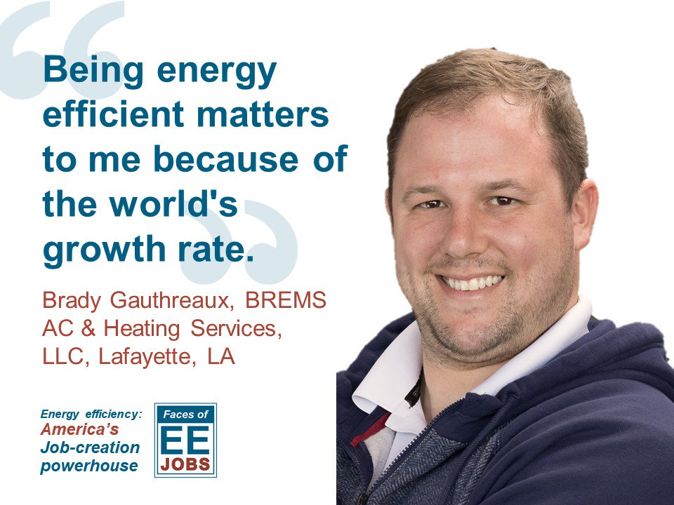 #EnergyEfficiency strengthens communities for decades to come.  Thanks @_BPI_ for honoring newly-credentialed pros also in the #FacesofEE initiative  http:// bit.ly/2HscThv  &nbsp;  <br>http://pic.twitter.com/fsdjbAvsEn