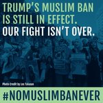 #NoMuslimBanEver