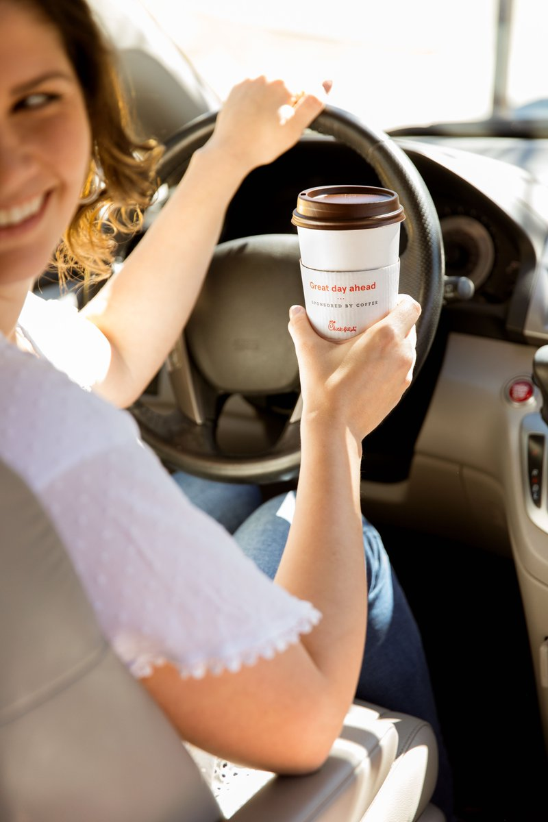 Coffee in hand ready to take on the day. ☕️ #ChickfilA #fairtrade #coffee https://t.co/knYQRQyKZe