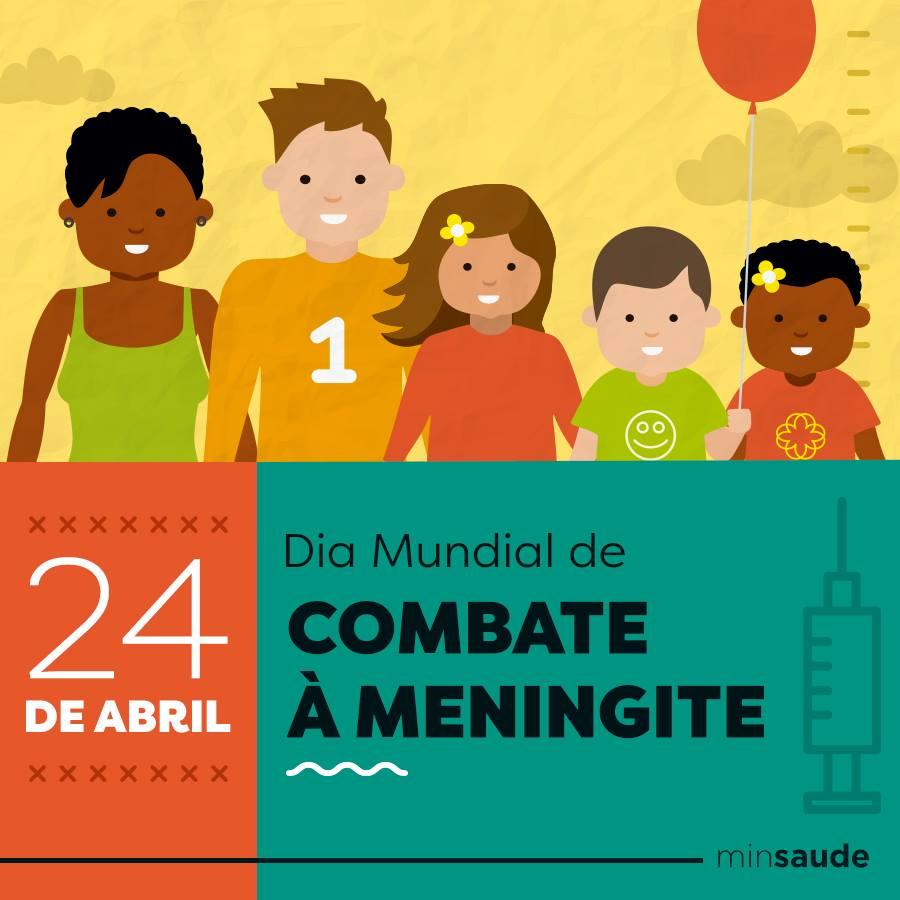 Hoje é dia Mundial de Combate à meningite. Uma data para conscientização da doença.  O #SUS oferta vacinas que protegem contra diferentes tipos de meningites em várias etapas da vida.  Saiba mais sobre a doença https://t.co/XJh2laaA6c