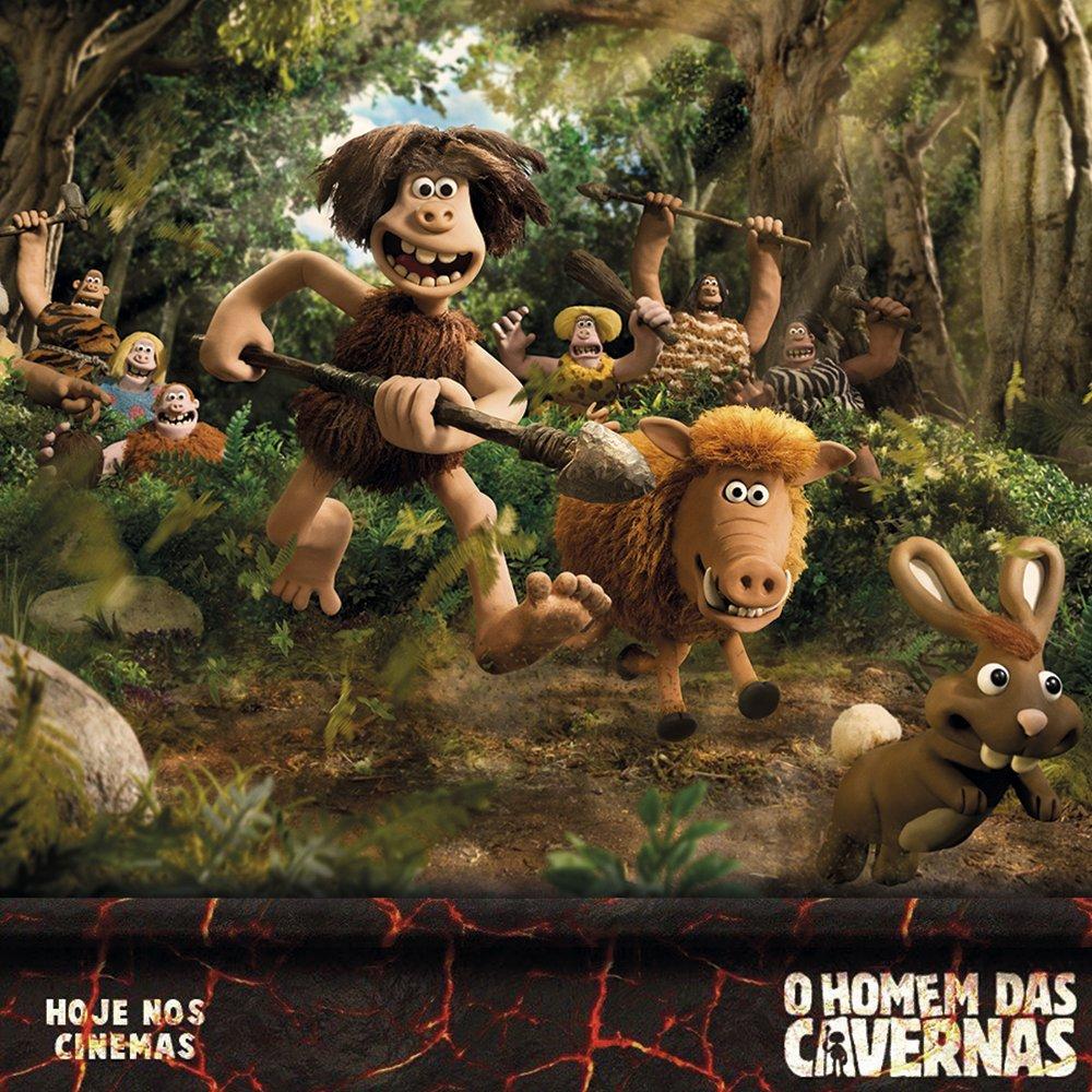 A tribo de Doug abalou a Idade da Pedra e agora encara um novo desafio para se adaptar aos tempos modernos. #OHomemdasCavernas está nos cinemas.