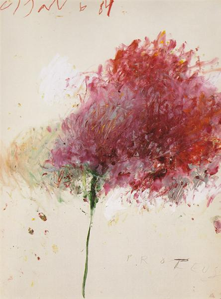 Proteus, 1984  Cy Twombly https://t.co/g...