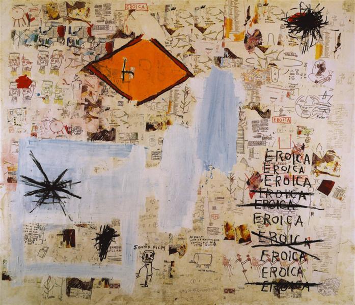 Eroica, 1987  Jean-Michel Basquiat https...