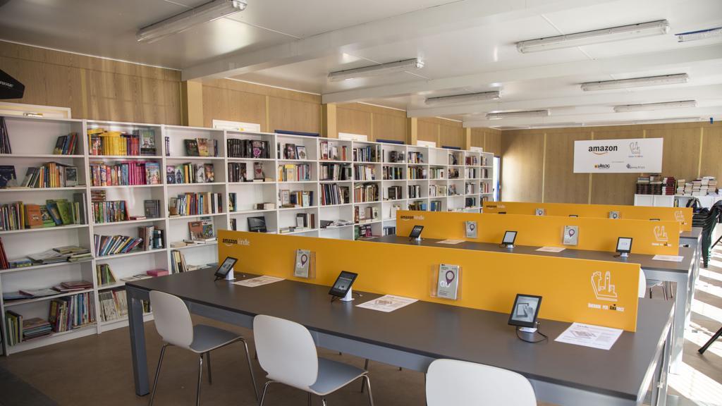 Una biblioteca digitale per la rinascita di Amatrice. Il regalo di Amazon e dell'Università di Udine https://t.co/aLyT3ndfto