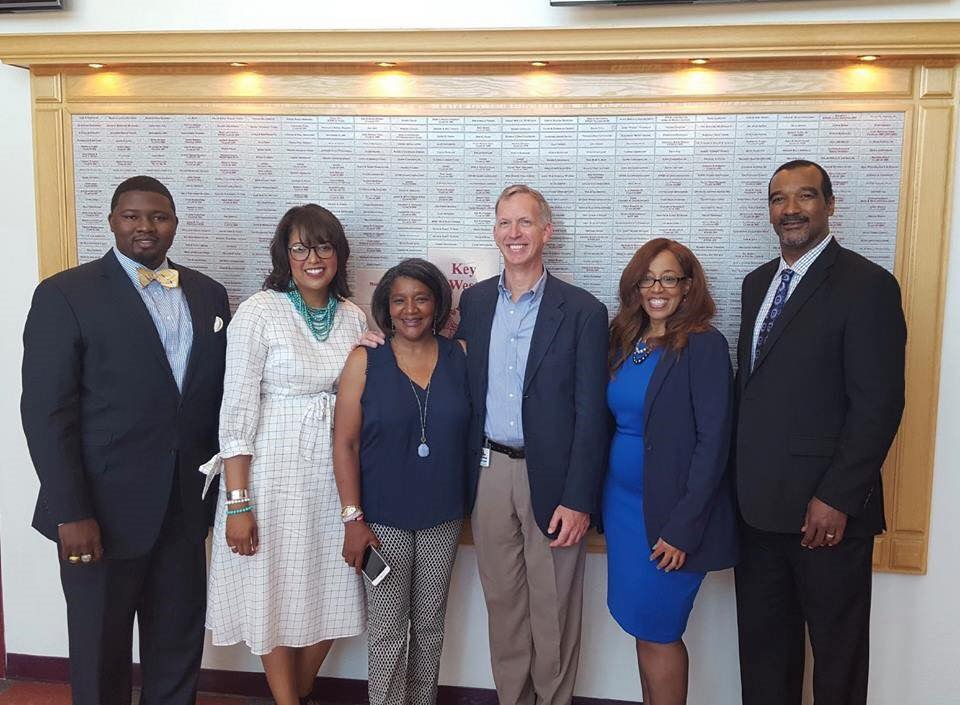 Dr. Allyson Watson presented along with Dr. Michael Brooks (Dentist), Sheryl Harris (State Farm Agent), and Mr. Donzel Leggett (VP at General Mills) at the Take Stock In Children - Secrets to Educational Success Conference in Key West, Florida this past weekend. #usfsp #usfspcoe<br>http://pic.twitter.com/Z9q9oyBpUY