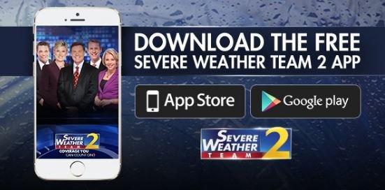 Parts of metro atlanta are under severe thunderstorm