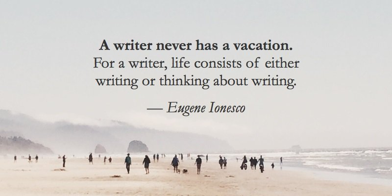 The Truth About The #WritersLife From Eugene Ionesco... #AmWriting <br>http://pic.twitter.com/pEBzB6G3tD