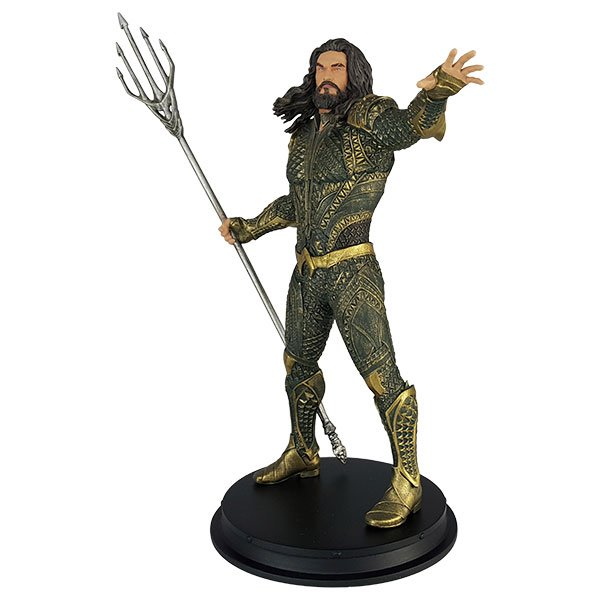 The Strong Man Is Strongest Alone Justice League Aquaman Statue