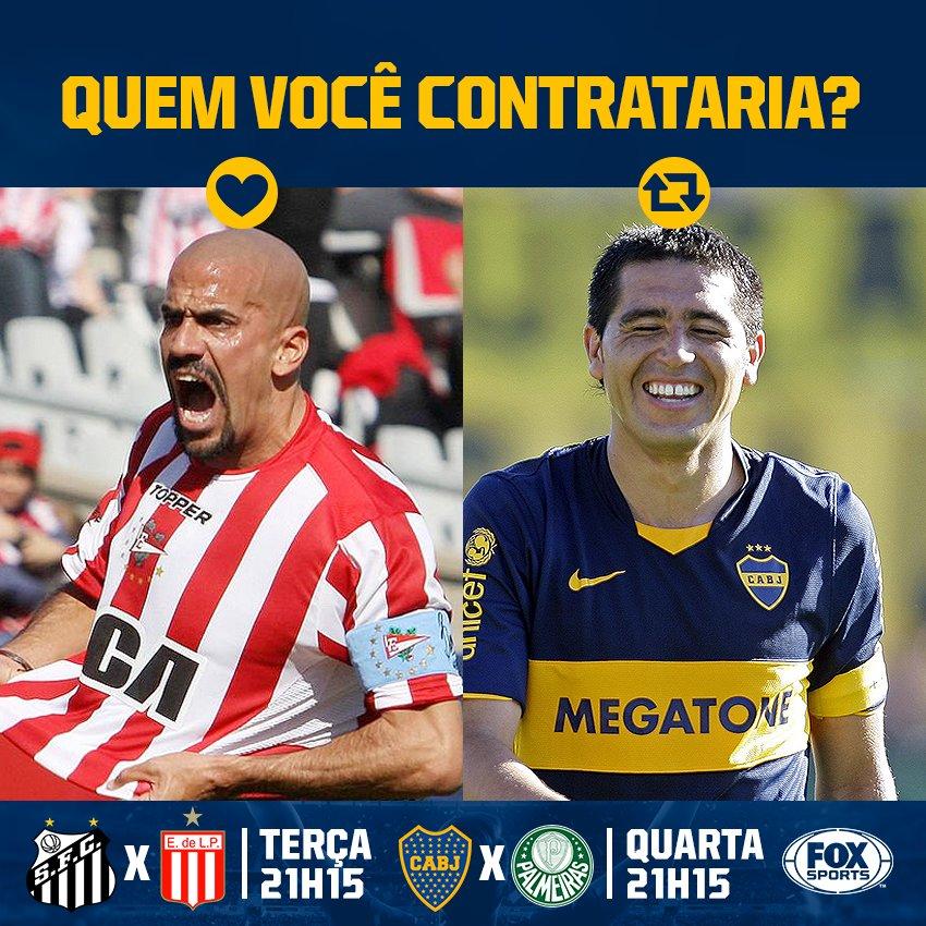 🇦🇷 Duelo de hermanos! Quem jogou mais bola? #LibertadoresFOXSports   🔁 Riquelme  ❤ Verón