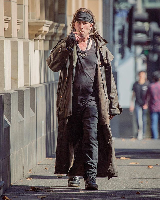 Captain Jack Sparrow spotted on Lonsdale Street?