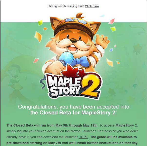 Spadow On Twitter See You On May 9th In Maplestory2