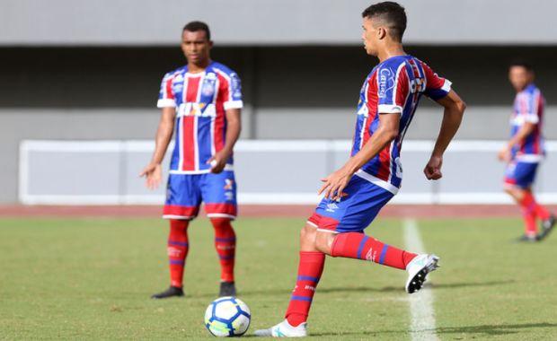 Tricolor avança no Baiano sub-20; adversário será o Bahia de Feira https://t.co/byZYUyP3So https://t.co/SGP65uLzXl