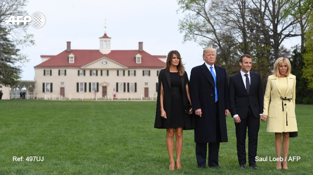 @Ebaradat The three-day state visit of French President Macron continues with dinner at Mount Vernon, the estate of the first US President George Washingtonhttps://t.co/cSudIz0RRP  https://t