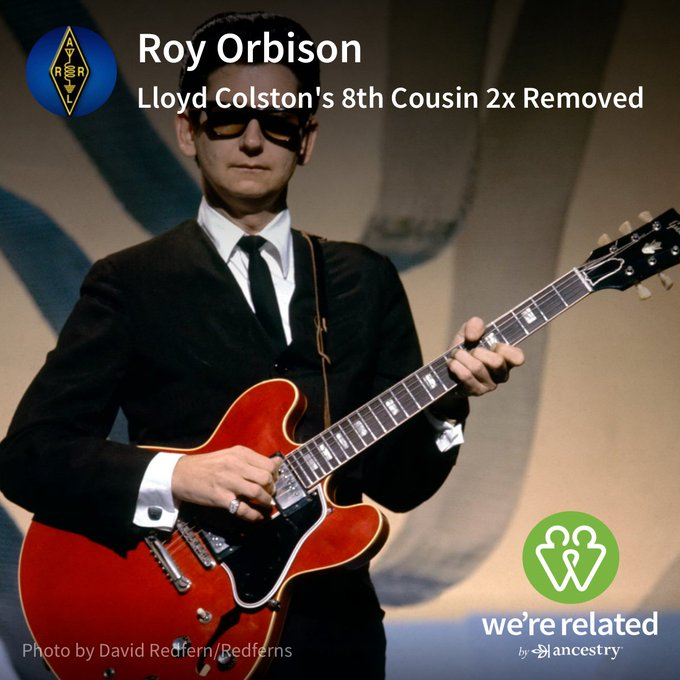 Happy Birthday Cousin!!!  I might be related to Roy Orbison!