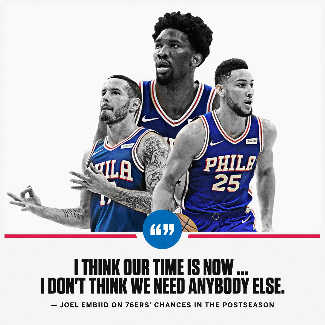 Embiid's confidence level �� https://t.co/Lt3pX2MTTp