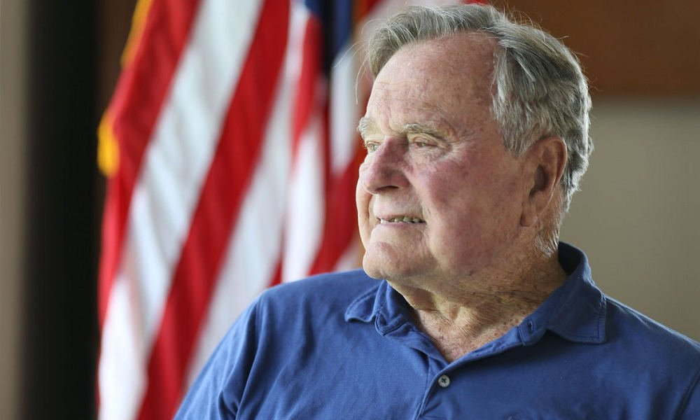 Former U.S. President George H. W. Bush hospitalized for an infection, less than a week after the death of his wifhttps://t.co/f4ZrqZR5oGe