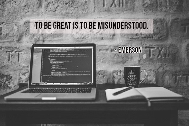 Gary Hensel On Twitter To Be Great Is To Be Misunderstood