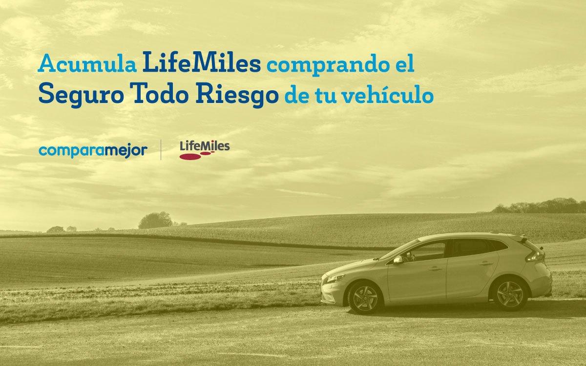 Nunca fue tan fácil acumular @LifeMiles . Comprando el Seguro Todo Riesgo de tu vehículo acumulas #LifeMiles ✈️ que podrás disfrutar en lo que quieras! 🛍️  >> https://t.co/SYVjjLAgpW https://t.co/JAvPeoBRZG