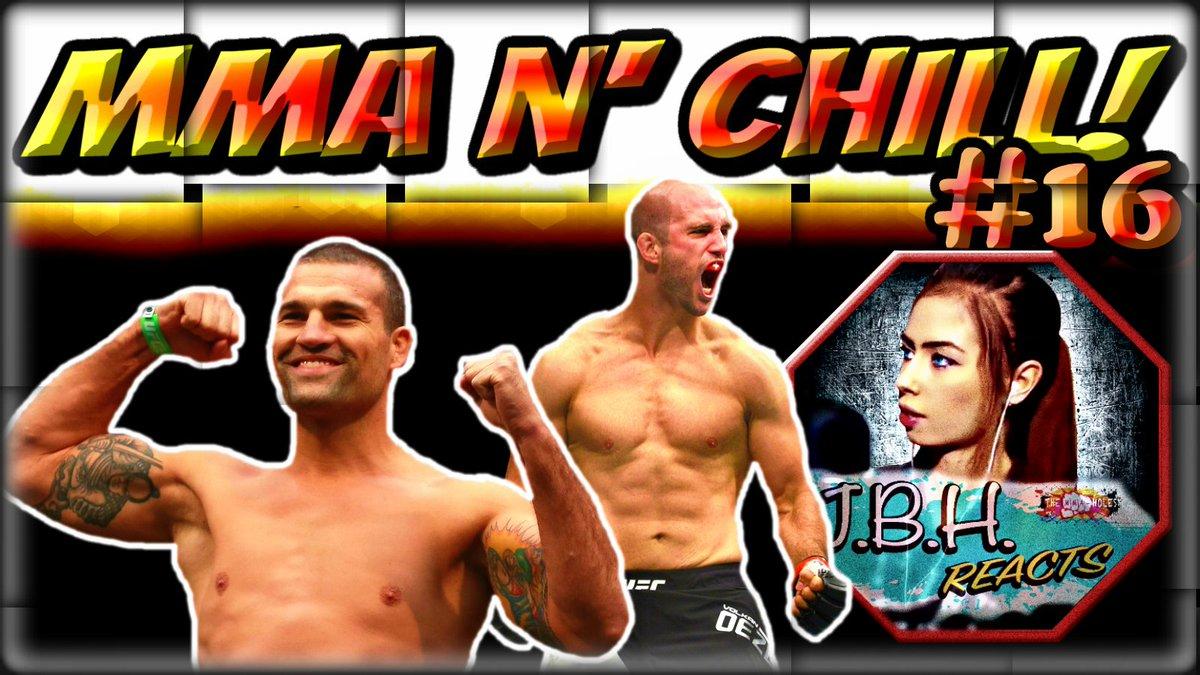 #MMAFANS! #TONIGHT @915pEST:   &quot;#MMA N&#39; #CHILL&quot; #16   #KHABIB #UFC  / #VOLKANVSSHOGUNRUA / #RUMORS, #NEWS, &amp; #CHAT!  HERE!  https://www. youtube.com/watch?v=wINi5H 35vjs &nbsp; …   FOLLOWED BY @10pEST:  &quot;@TheMMAholes HOUR&quot; --&gt; #KEVINLEE #DOMINATION! + #RECAP!  HERE!  https://www. youtube.com/watch?v=wxjTIW 8ozSk &nbsp; … <br>http://pic.twitter.com/dAYyv4rA9U