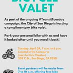 Image for the Tweet beginning: Pedal yourself to the @CityofSanDiego
