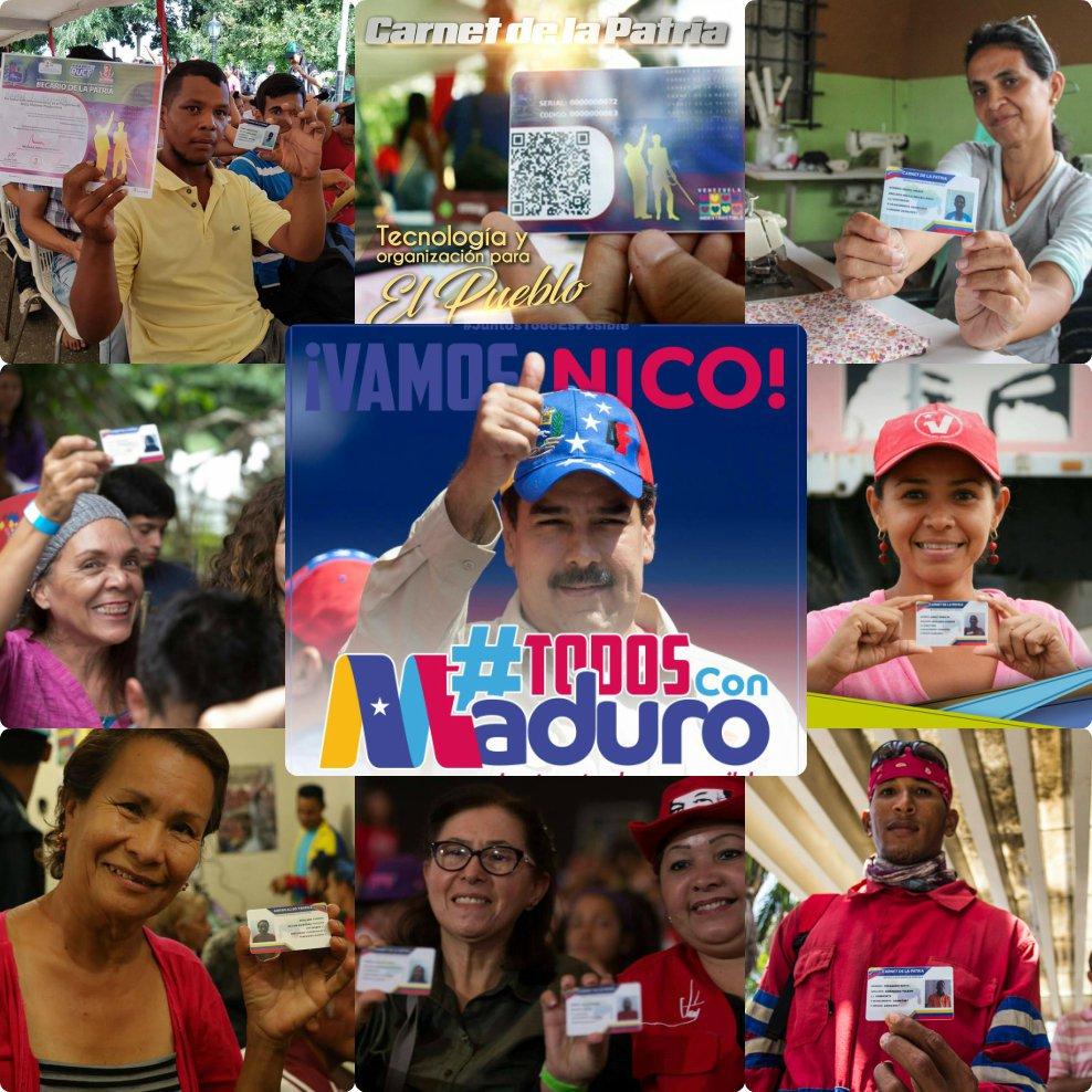 Carnet de la Patria on Twitter: \